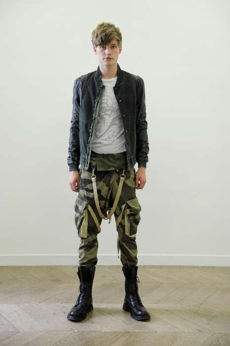 Militarized Hipster Fashion