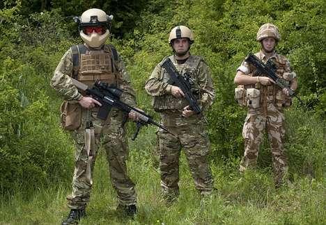 Hi-Tech Army Helmets