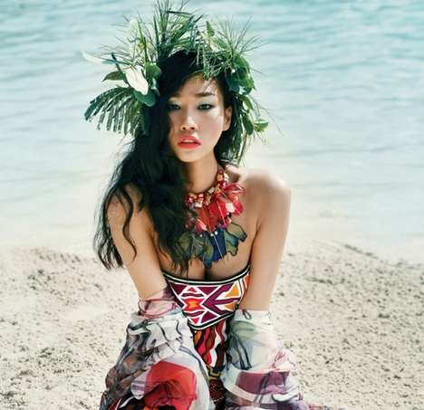 The 'Escape To Tahiti' Vogue Korea July 2010 Shoot