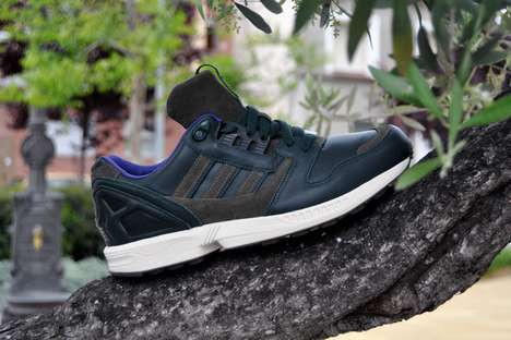 Tree-Camouflaging Kicks - The Adidas Green/Olive ZX 8000 Will Keep You Inconspicuous