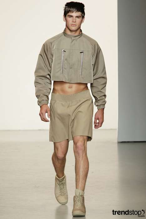 Men's Cropped Tops