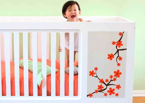 Mix 'n' Match Cribs - Muu Children's Furniture Allows You to Customize Your Little One's Room
