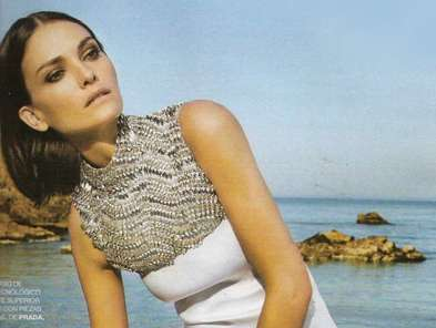 The Sun-Kissed Marie Claire Spain June 2010 Spread