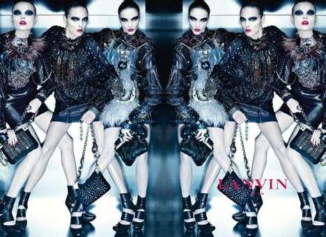 Mirrored Futuristic Fashion