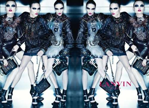 Mirrored Futuristic Fashion