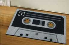 Cassette Tape Doormats - Evoke the Spirit of the 80s With These Retro Doormats