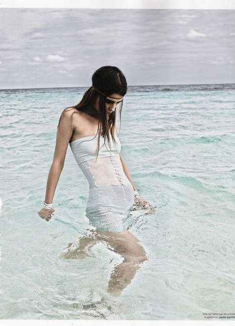 Modern Mermaid Fashion