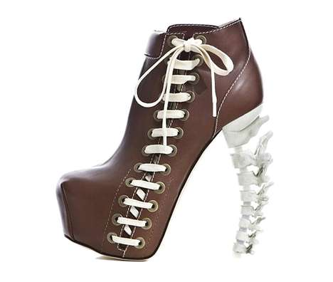 Skeletal Football Booties