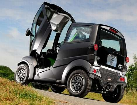 Reverse Canopy Cars - The 'T. 25 City Car' has a Fully Removable Front End