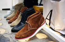 Uptown Desert Boots - The Garbstore 2011 Spring/Summer Collection Looks Mighty Fine