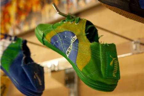 Flimsy World Cup Footwear