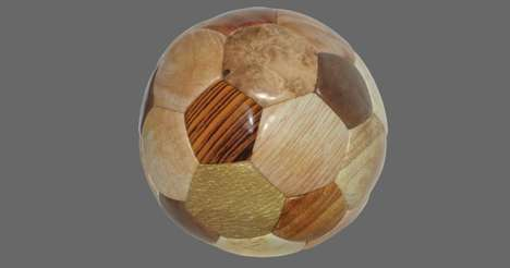 Wooden Soccer Balls