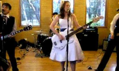 Surprise Rockstar Brides - One Couple Forgoes Hiring a Wedding Band & Does it Themselves