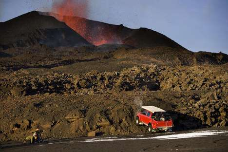 Erupted Volcano Driving - Top Gear's James May Conquers the Hottest Place on Earth in a Truck