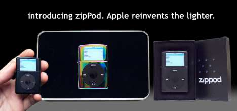 Brand Obsession Driving Rogue R&D - Example: The Zippo'd iPod