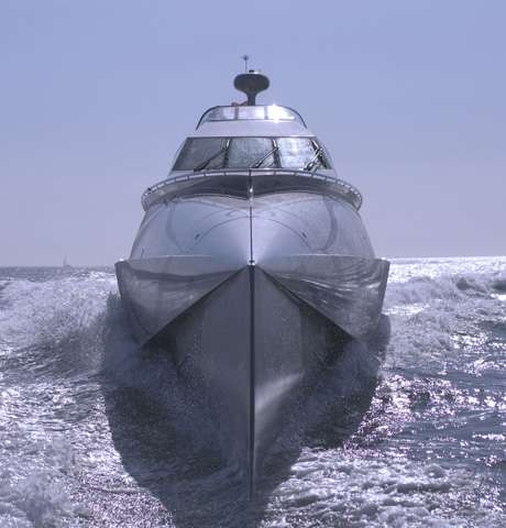 Skinny Military Boats Become Luxury Yachts