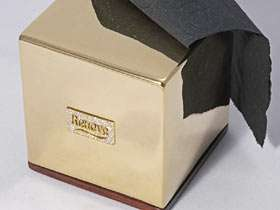 Gold Toilet Paper Box