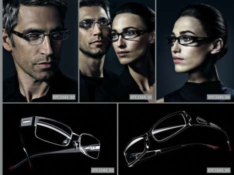 Mercedes Glasses  - MB Jumps into Optical Fashion with 40 New Frames
