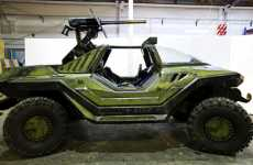 Video Game Cars Become a Reality - The HALO Warthog