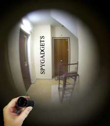 Reverse Peephole Viewer - Spy Gadgets Get Creepy