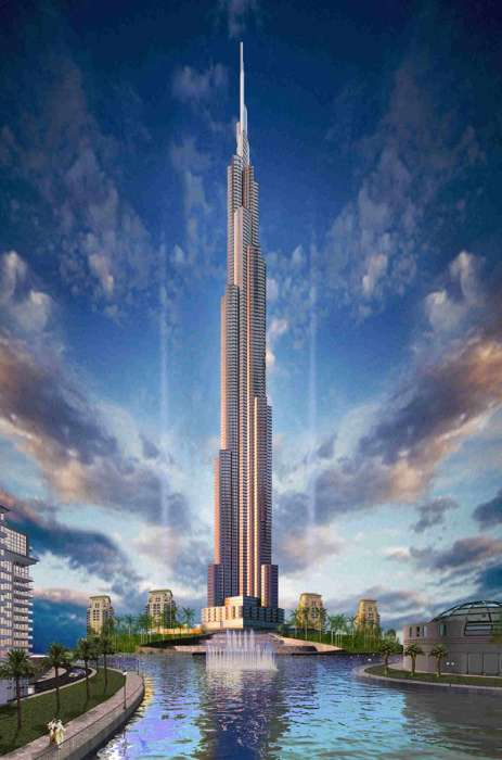 The Burj Dubai Becomes the World's Tallest Building