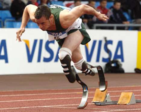 Bilateral Amputee Makes Controvercial Bid for Able-Bodied 2008 Olympics