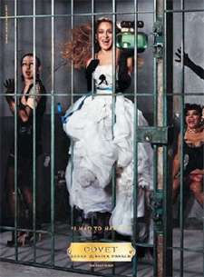 Sex And The Cell - SJP In Jail In Covet Perfume Ads