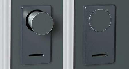 Disappearing Doorknobs