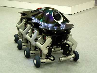 Eight Legged Robot - The Halluc II
