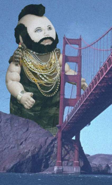 80s Icon Revived - Mr. T Doll Exhibition In San Francisco