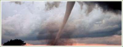 Manmade Tornados as a New Energy Source