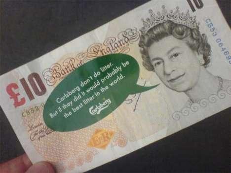 Marketers Drop Money Around London