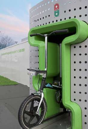 Bicycle Vending Machine