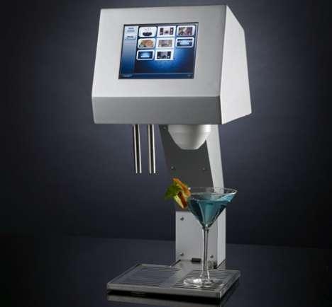Robot Bartenders Get Digital