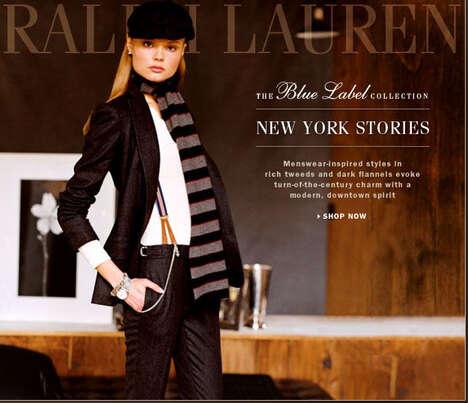 Menswear-Inspired Ladies Fashion