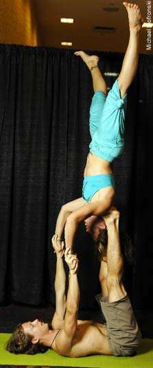 Acro Yoga For Two