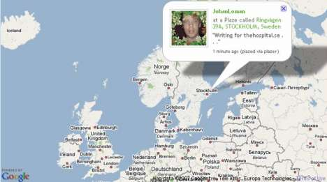 Social Tagging Via SMS - Text Your Location With Plazes
