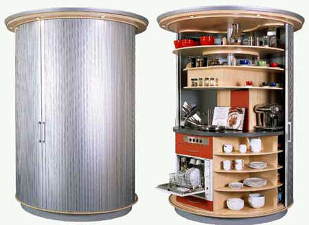 Revolving Circular Kitchens