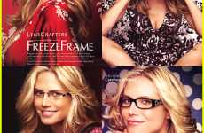 Supermodel Eyewear Ads - Heidi Klum Models For LensCrafters