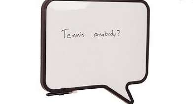 The Talk Board Dry Erase Board Will Help You Communicate