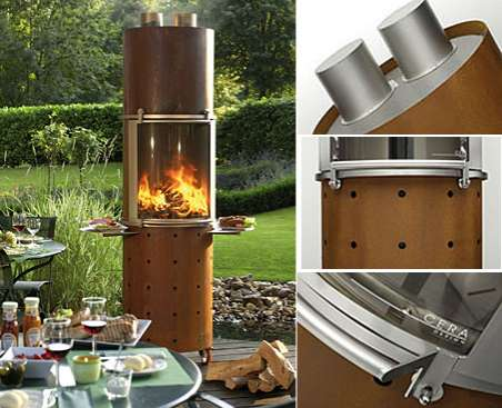 The Ascot Wood-Burning Barbecue Gives Food a Smoky Scent