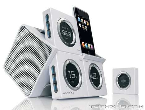 The Boynq 'Wake Up' iPod Dock Blasts Beats to Get You Out of Bed