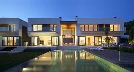 Modern Spanish Manors