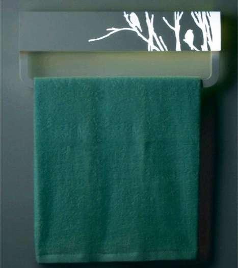 Antimicrobial Towel Racks