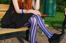 Candy Cane Tights