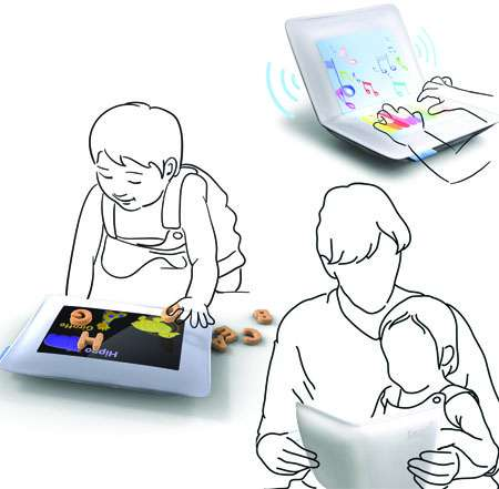 Touchscreens for Tots - The Smart Pillow is an Efficient Learning Tool for Young Children