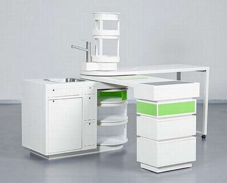 Compact Culinary Kitchens