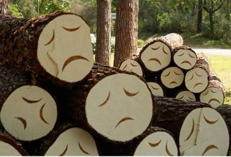 Depressed Tree Art