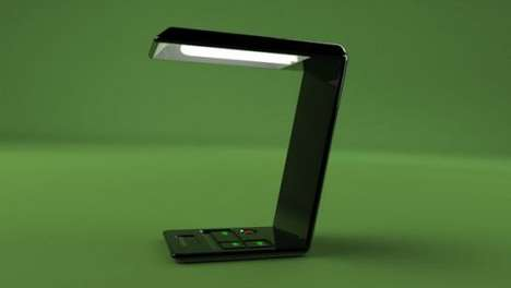 Computer-Inspired Lamps