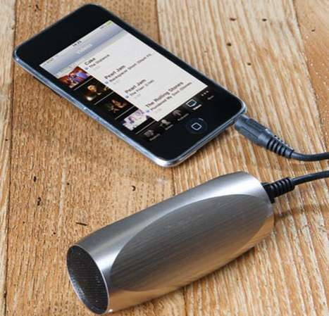 iPhone 4 Song-Blasters - The Sonic Tube Speaker is the Littlest Big Sound You'll Have This Summer